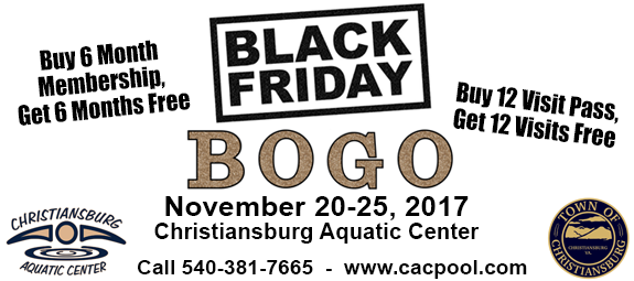 Black Friday Deals at the CAC