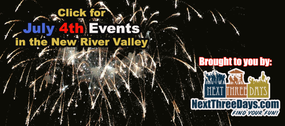 July 4th Events in the NRV